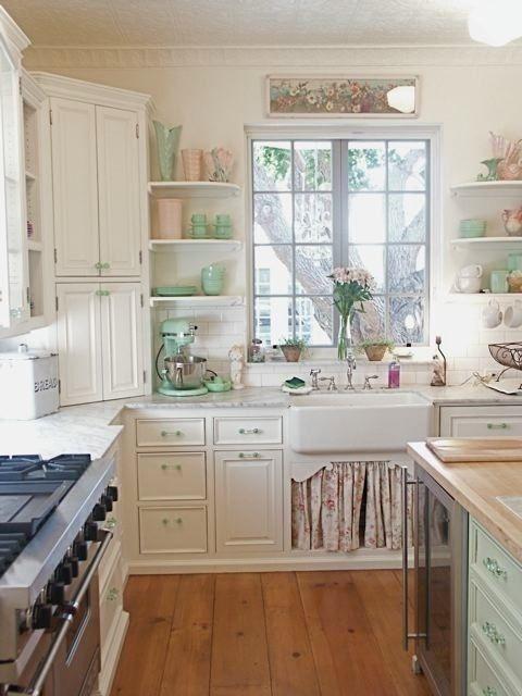 Zařiďte Si Kuchyni Ve Vintage Stylu Domov21