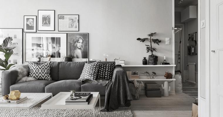 Nápady na dekorace ve skandinávském stylu