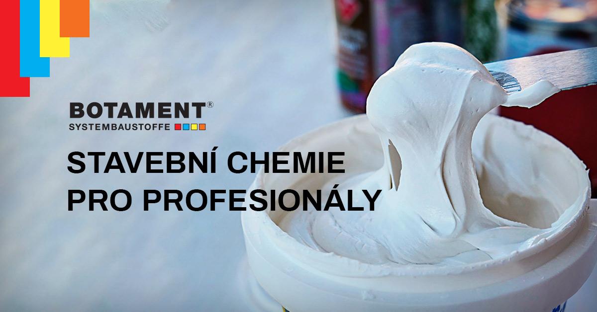 BOTAMENT je specializovaný výrobce systémových stavebních hmot, stavební chemie a produktů pro obkladače